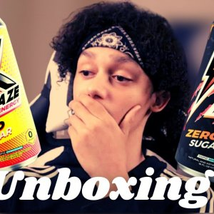 RAZE ENERGY UNBOXING/REVIEW (Better Than Monster?)