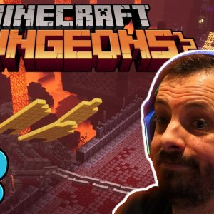 Into the NETHER! | Minecraft Dungeons | Episode 3