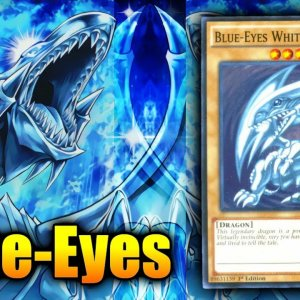 Yu-Gi-Oh! Blue-Eyes White Dragon Deck April 2021