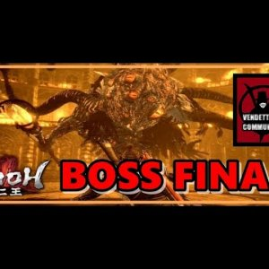 🔥💀BOSS Cienojos (Verdadero Final)💀🔥 🕹️NioH BLIND Walkthrough🕹️