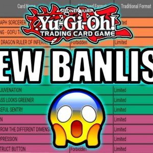 Yu-Gi-Oh! September 2020 TCG Banlist Analysis ft. Ben 10,000 of YGO
