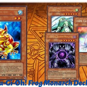 Yu-Gi-Oh! Frog Monarch Deck Profile September 2020
