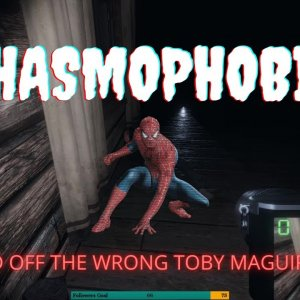 The Ghost is a Toby Maguire Spider-Man Fan!!!!