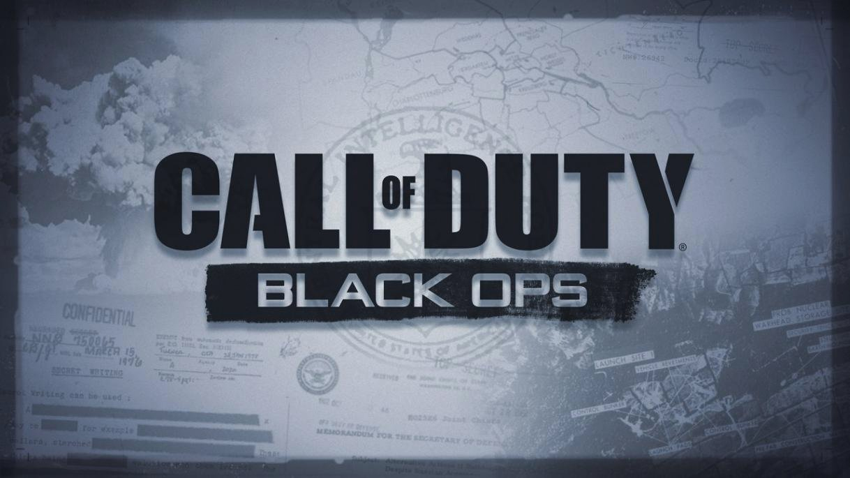 Call of Duty Black Ops concept logo. Concept Art.